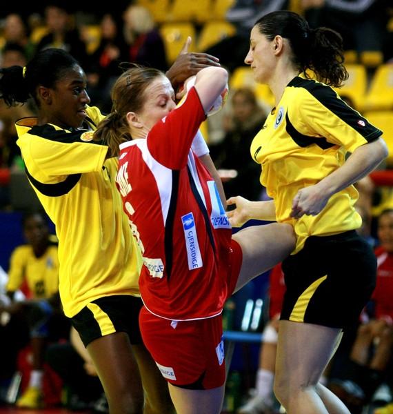 Noruega : Portugal - Campeonato da Europa Seniores Femininos Macedónia 2008