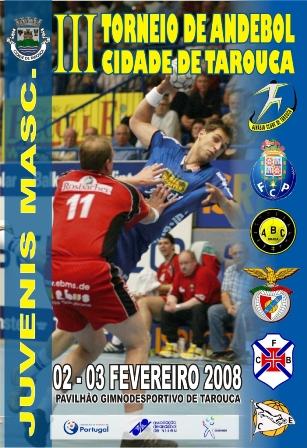 Cartaz Torneio Cidade de Tarouca