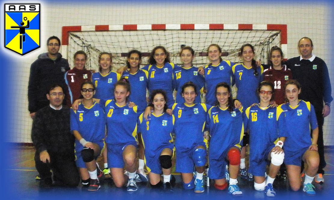 Foto de Equipa- Seleção Feminina da Santarém