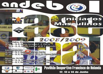 Cartaz Fase Final Campeonato Nacional 1ª Divisão Iniciados Masculinos