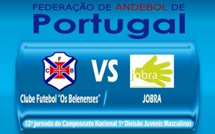 Belenenses : Jobra - 12ª jornada do Campeonato Nacional Juvenis Masculinos