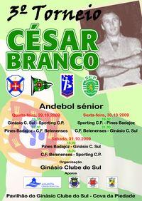 Cartaz III Torneio César Branco