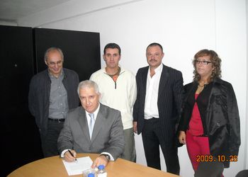 Tomada de posse da Comissão Administrativa da A.A. Viana Castelo