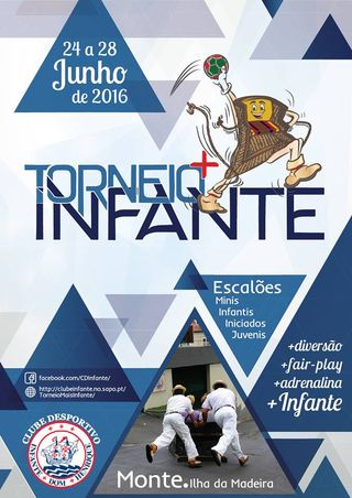 Cartaz 1º Torneio Infante 2016