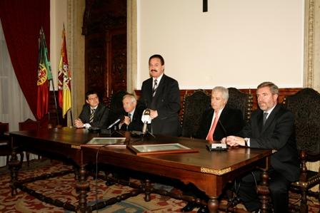 Recepção à Selecção Nacional no Salão Nobre da Câmara Municipal de Viseu (Fotos: José Alfredo)