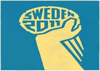 Logo Campeonato do Mundo Suécia 2011