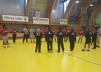 Treino Seleção na Estónia 1 - 31.12.2013