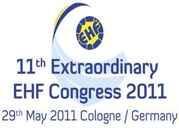 Logo 11º Congresso Extraordinário EHF