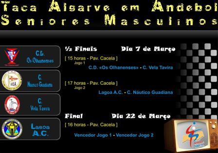 Cartaz Taça do Algarve Seniores Masculinos