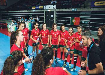 Portugal : Itália - Campeonato da Europa Sub17 Femininos Divisão B