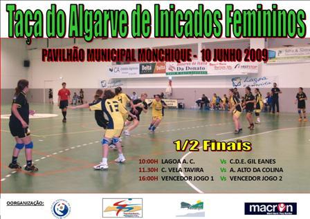 Cartaz Taça do Algarve de Iniciados Femininos