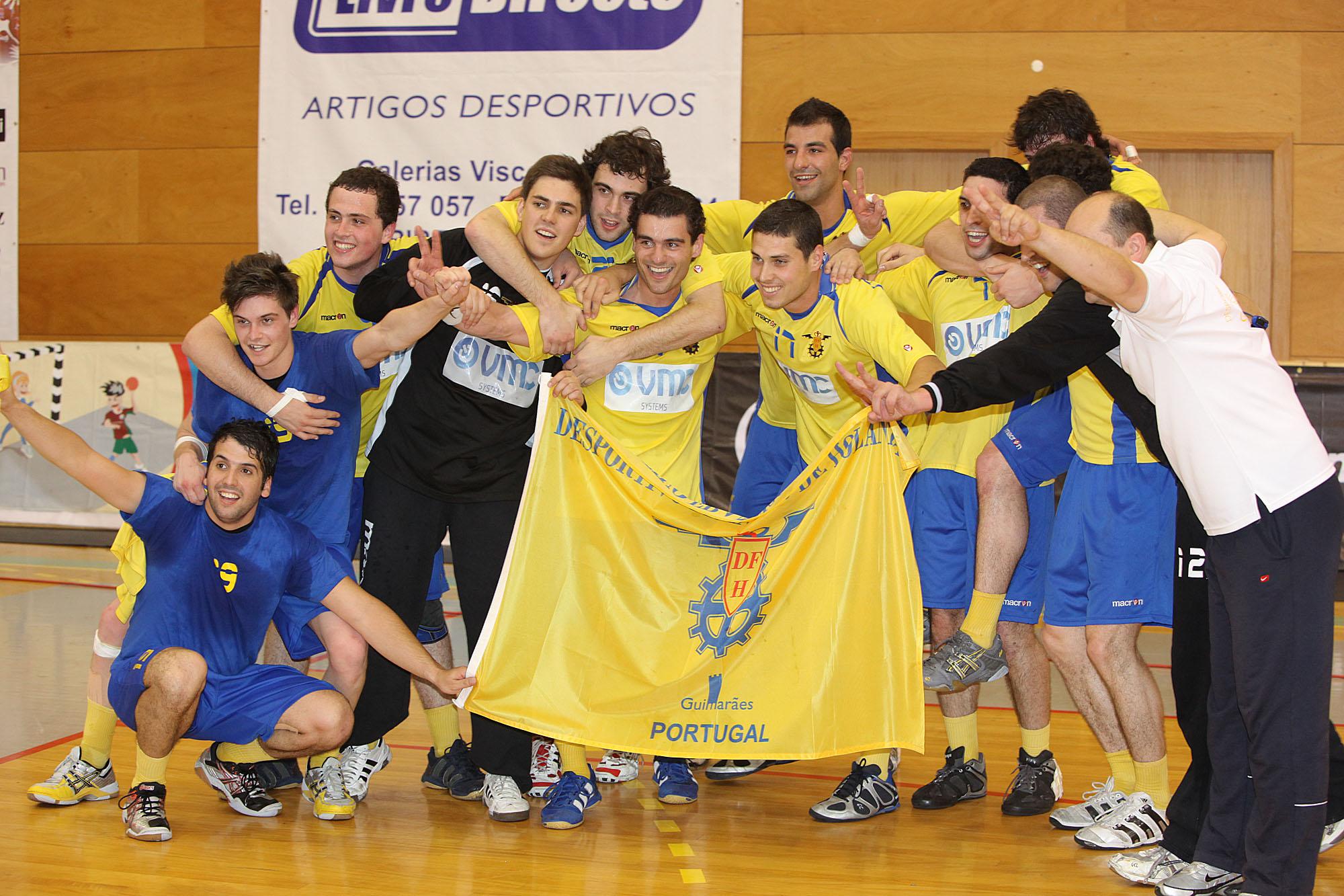 DF Holanda - Campeão Nacional 1ª Divisão Seniores Masculinos