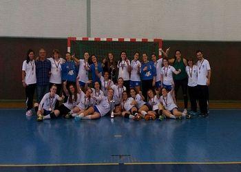 Colégio de Gaia - campeão nacional de Juniores Femininos 2015/ 2016