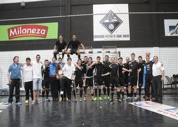AA Águas Santas - campeão nacional Juvenis Masculinos 1º Divisão 2015/16- foto: António Oliveira