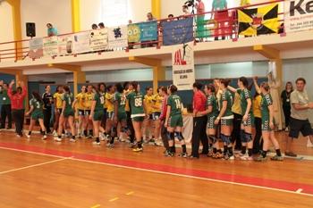 Col. João de Barros - Gil Eanes - 1/2 final Taça de Portugal Seniores Femininos - foto de Luís Simões