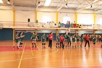 Col. João Barros - 1/2 final Taça de Portugal Seniores Femininos - foto de Luís Simões