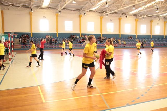 Col. Gaia : Madeira Sad - 1/2 final Taça de Portugal Seniores Femininos - foto de Luís Simões