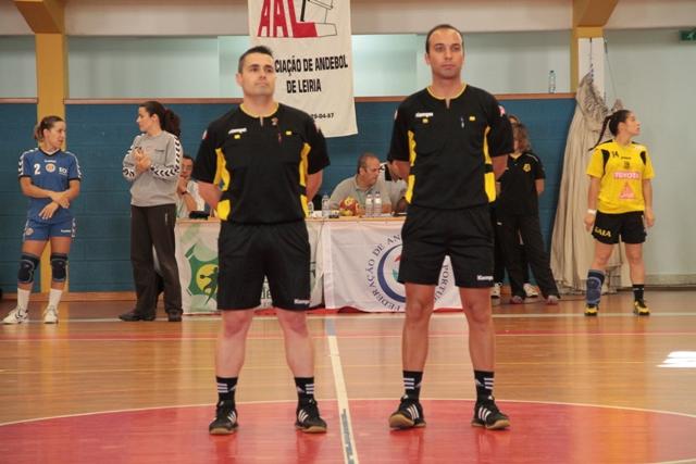 Eurico Nicolau e Ivan Caçador - Col. Gaia : Madeira Sad - 1/2 final Taça de Portugal Seniores Femininos - foto de Luís Simões