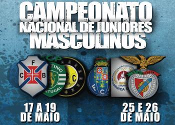 Banner Fase Final Campeonato Nacional Juniores Masculinos 1ª Divisão