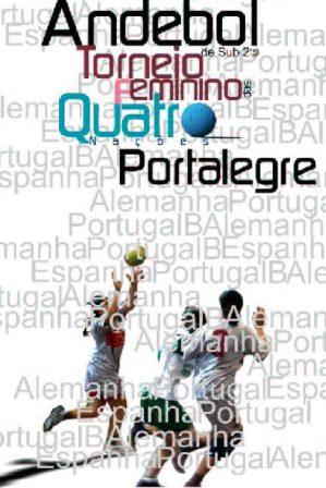 Cartaz Torneio das 4 Nações - Portalegre