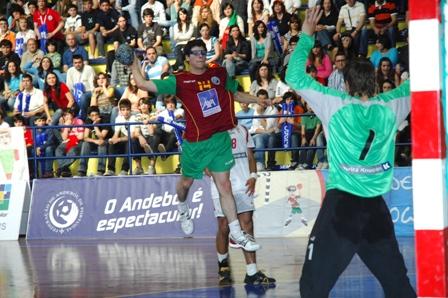 Dinamarca : Portugal - Qualificação Ech Sub18 Masculinos, Guimarães 2