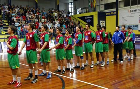 Dinamarca : Portugal - Selecção Nacional Junior B Masculina - Qualificação Ech Sub18 Masculinos, Guimarães 6