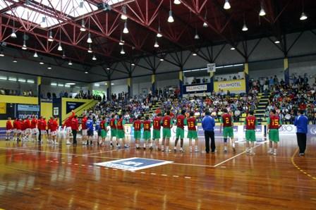 Dinamarca : Portugal - Qualificação Ech Sub18 Masculinos, Guimarães 7