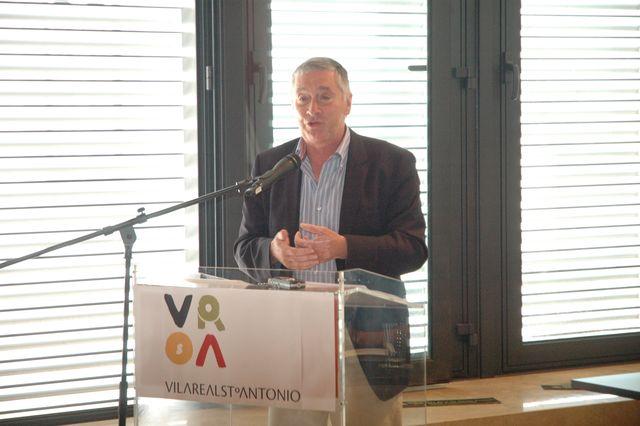 Assinatura de protocolo de desenvolvimento entre a FAP e a VRSA - Ulisses Pereira