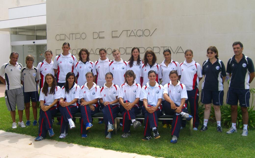 Selecção Senior Feminina e Equipa Técnica