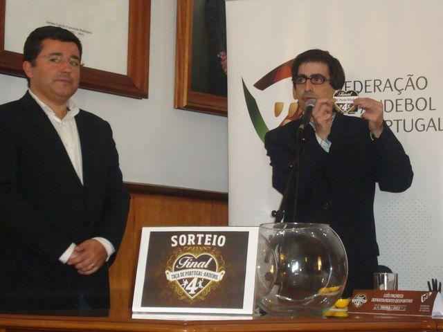 Sorteio da Final Four da Taça de Portugal Seniores Masculinos - Luis Pacheco, Dr. Jorge Botelho