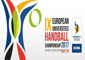 Logo Campeonato Europeu Universitário de Andebol 2017