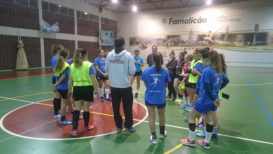 Ulisses Pereira de visita ao AC Vermoim Andebol Clube