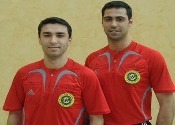 Duarte Santos e Ricardo Fonseca (arbitros)