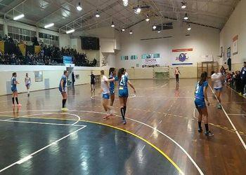Colégio de Gaia/Toyota - Alavarium Love Tiles - Campeonato 1ª Divisão Feminina - foto: António Oliveira