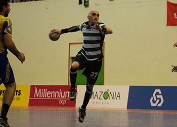 Challenge Cup - Sporting CP - AHC Potaissa Turda - 1ª mão - Final