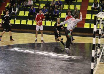Benfica - Àguas Santas - Fase Apuramento Campeonato Nacional Juvenis Masculinos 1ª Divisão - foto: António Oliveira