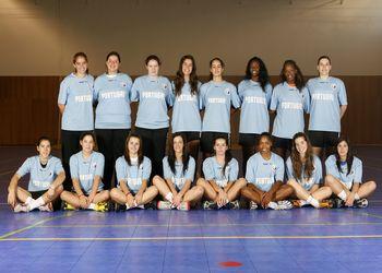 Selecção Nacional Junior A feminina - atletas - época 2009-10