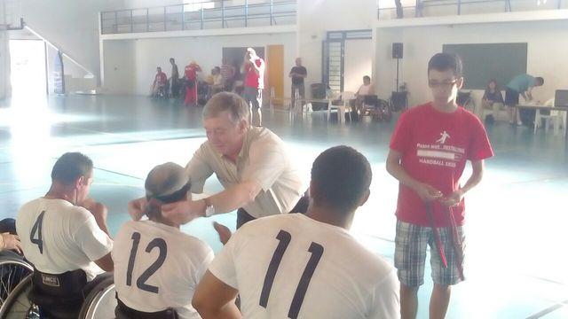 Final do Campeonato Nacional de Andebol em Cadeira de Rodas - ACR7 - 27.06.2015, Fig. Foz
