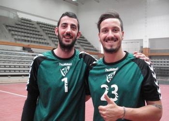 Ricardo Candeias com Tiago Pereira