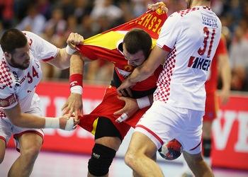 Campeonato da Europa - Macedónia-Croácia