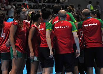 XVIII Jogos do Mediterrâneo: Portugal x Sérvia (Seleção A Feminina)
