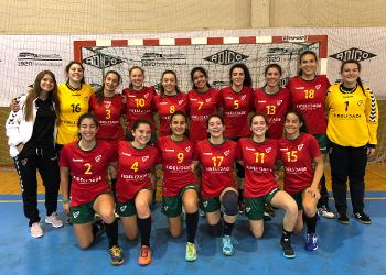 Torneio GarciCup 2018: Seleção Sub-18 Feminina x Cister Alcobaça (3ª Jornada)