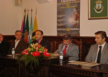 Pauo Langrouva (pres.Câmara Figueira Castelo Rodrigo) - Torneio Vala do Coa