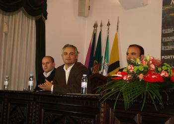 Rolando Freitas - Conferencia Imprensa Pinhel - Vale do Coa