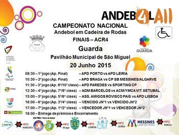 Final do Campeonato Nacional de ACR4 - 20 de Junho 2015 - Guarda