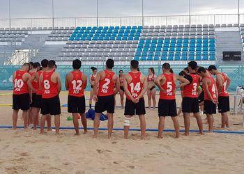 Seleção Nacional Masculina de Sub18 de Andebol de Praia