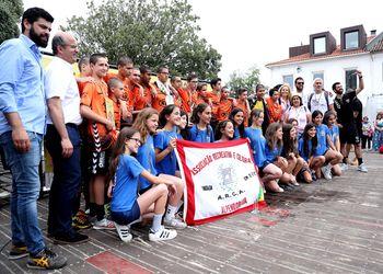 ARC Alpendorada (F) e NA Samora Correia - Campeões Nacionais de Infantis