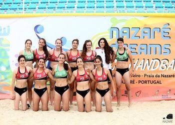 Seleção Nacional de Andebol de Praia de Sub18 Femininas - Torneio Nazaré Dreams