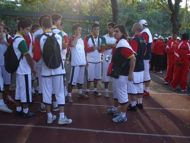 Comitiva portuguesa nos Jogos CPLP