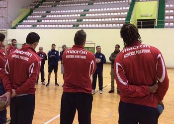 Treino seleção senior - Almada - 28.12.2013